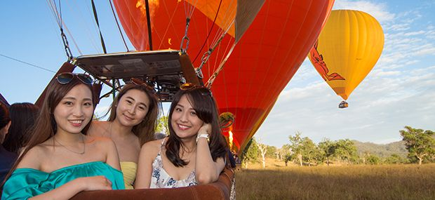 Daily Scenic Sunrise Hot Air Balloon Rides from Cairns and Port Douglas
